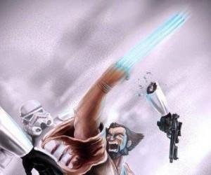 Jedi Wolverine ze szponami świetlnymi