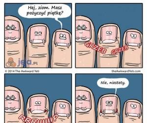 Jak powstają skórki przy palcach