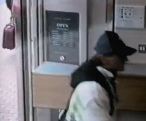 Tak wygląda nieudany napad na bank