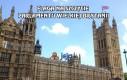 Flaga na szczycie parlamentu Wielkiej Brytanii