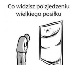 Co widzisz w lustrze podczas odchudzania