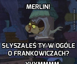 Merlin ma ważniejsze sprawy