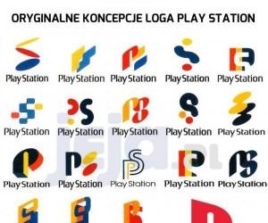 Oryginalne koncepcje loga Play Station