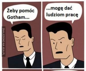 Co można zrobić, by pomóc Gotham...