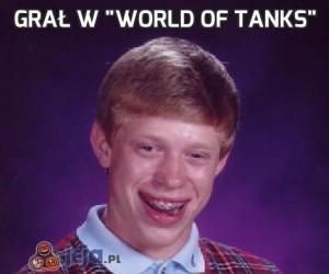 """Grał w """"World of Tanks"""""""