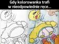 Gdy kolorowanka trafi w nieodpowiednie ręce... cz. 3