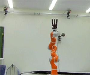 Szybka ręka robota, która złapie wszystko