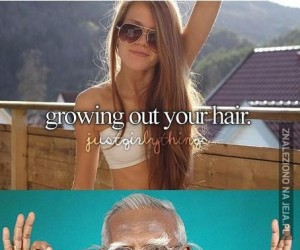 Zapuszczanie włosów!