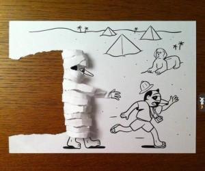Kartkowa mumia