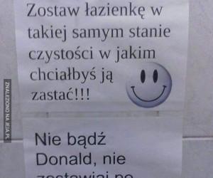 Nie bądź Donald