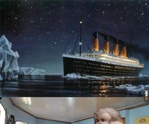 Graham na Titanicu