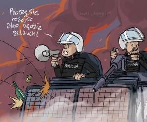 Policyjny szlauch