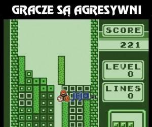 Gracze są agresywni