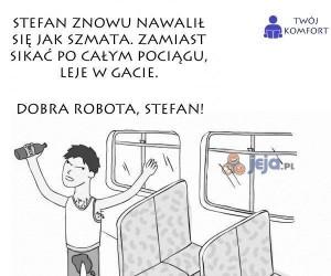 Dobra robota, Stefan!