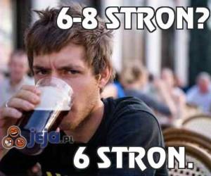 6-8 stron?