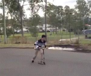 Trick na hulajnodze