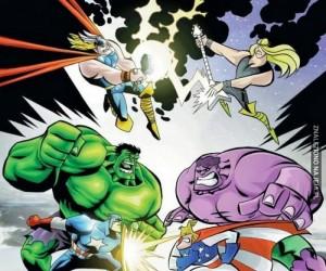 W Dexterze też byli Avengers