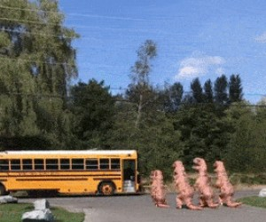 Tak wyglądały powroty ze szkoły w prehistorii