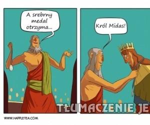 Król Midas oszukuje