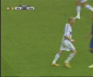 Zidane i  Materrazi po niemiecku