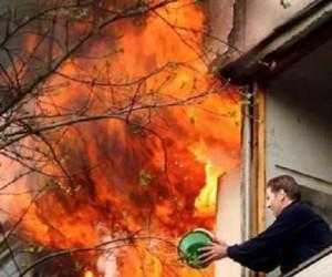 Pożar u sąsiadów