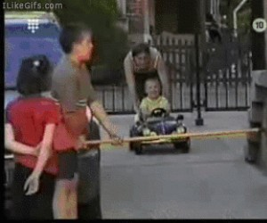 Z drogi, ku*wa, jadę!