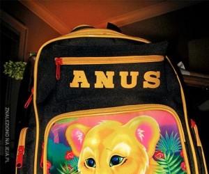 Mały lewek - Anus