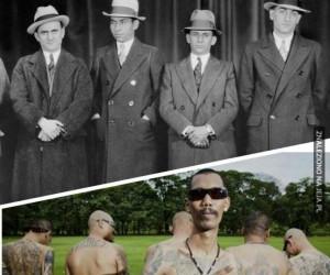 Gangsterzy kiedyś i dziś. Coś poszło nie tak...