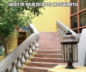 Ukryte przejście do Hogwartu