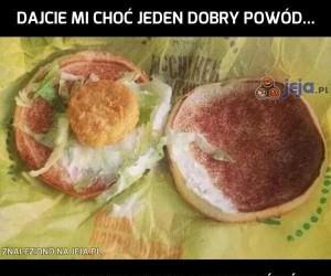 Dobrze wiem, kto mi robił tą kanapkę...