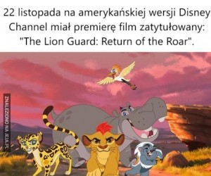 Kolejna odsłona Króla Lwa