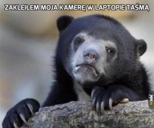 Zakleiłem moja kamerę w laptopie taśmą
