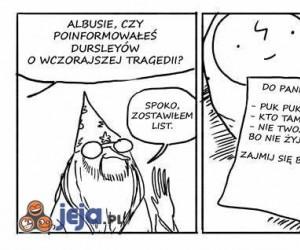 Dumbledore potrafi być delikatny