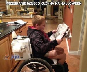 Przebranie mojego kuzyna na Halloween