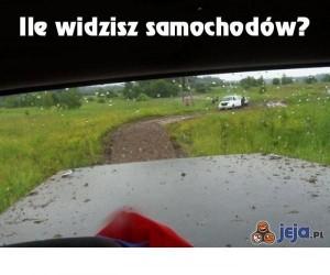 Policz samochody