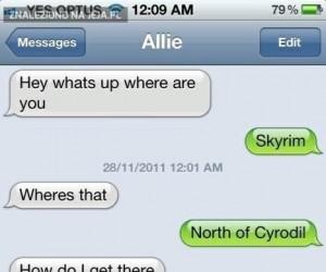 Znajdź mnie na Północ od Cyrodil