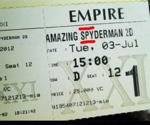 Spyderman, Spyderman...