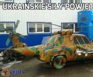 Ukraińskie siły powietrzne