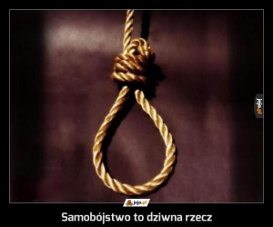 Samobójstwo to dziwna rzecz