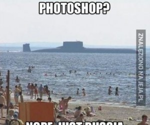 Plażowanie w Rosji