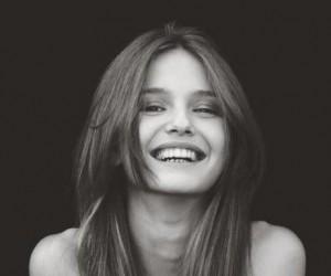 Uśmiech dziewczyny