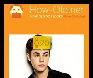 Oto jak Microsoft ocenia wiek oraz płeć Justina Biebera