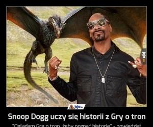 Snoop Dogg uczy się historii z Gry o tron