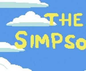 Gdyby Simpsonowie byli grą z lat '80