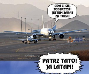 Ten pierwszy lot