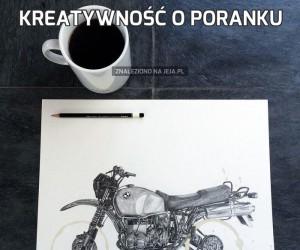 Kreatywność o poranku