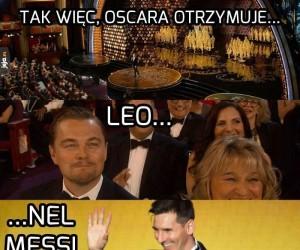 Brawo Leo, należało ci się!