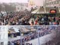 Otwarcie pierwszego McDonalda w Rosji, rok 1990