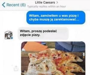Reklamacja pizzy