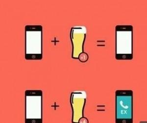 Wpływ piwa na telefon